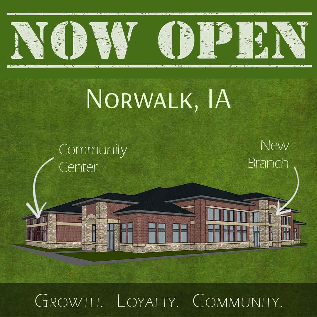 Luana Savings Bank New Norwalk Branch